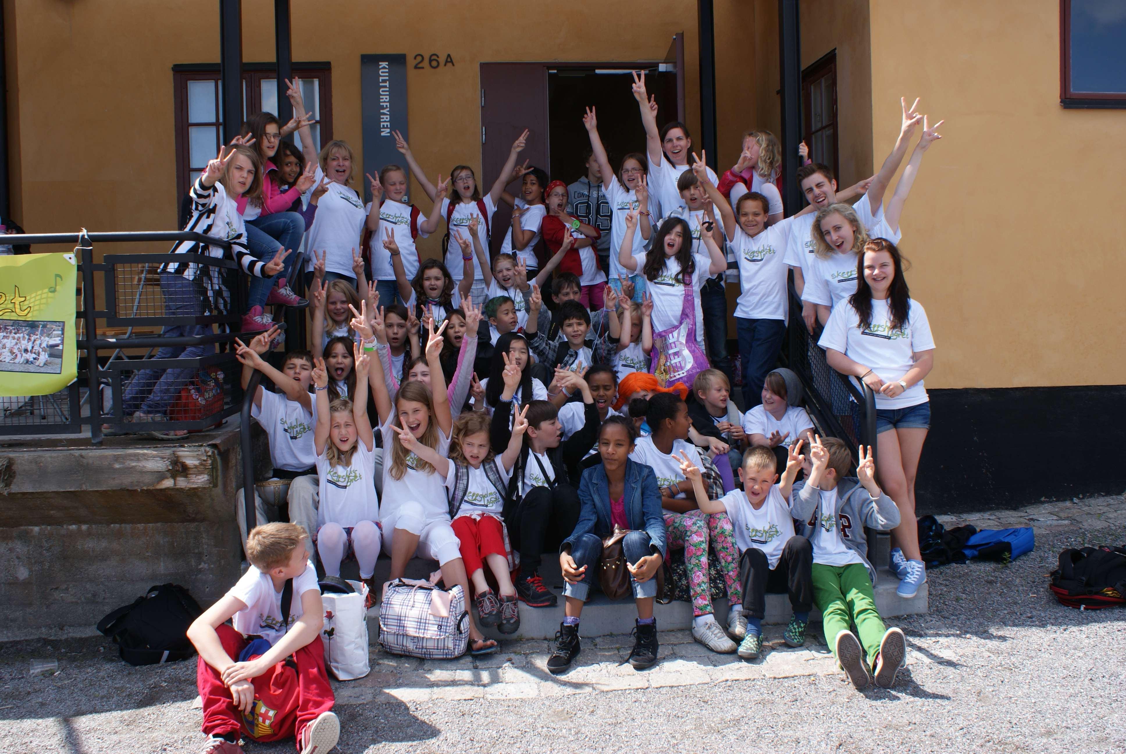 Skeppsholmslägret - Körläger 2018 för barn 9-13 år