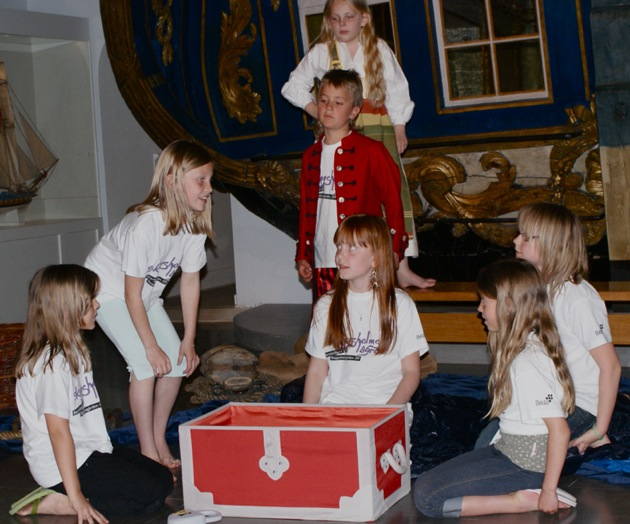 Skeppsholmslägret - Teaterläger 2017 för barn 9-13 år