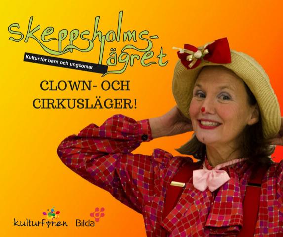 Skeppsholmslägret - Clown- och Cirkusläger