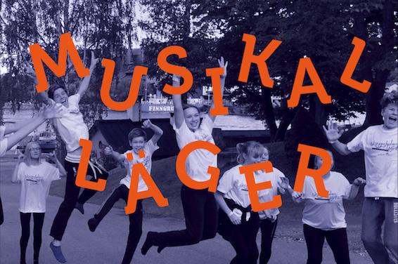 Skeppsholmslägret - Musikalläger 2018 för tonåringar 13-19 år