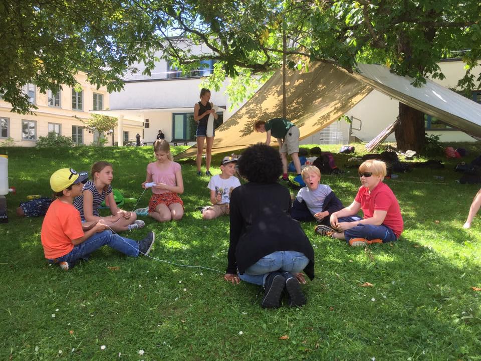 Skeppsholmslägret - Friluftsläger 1 2018 för barn 9-13år
