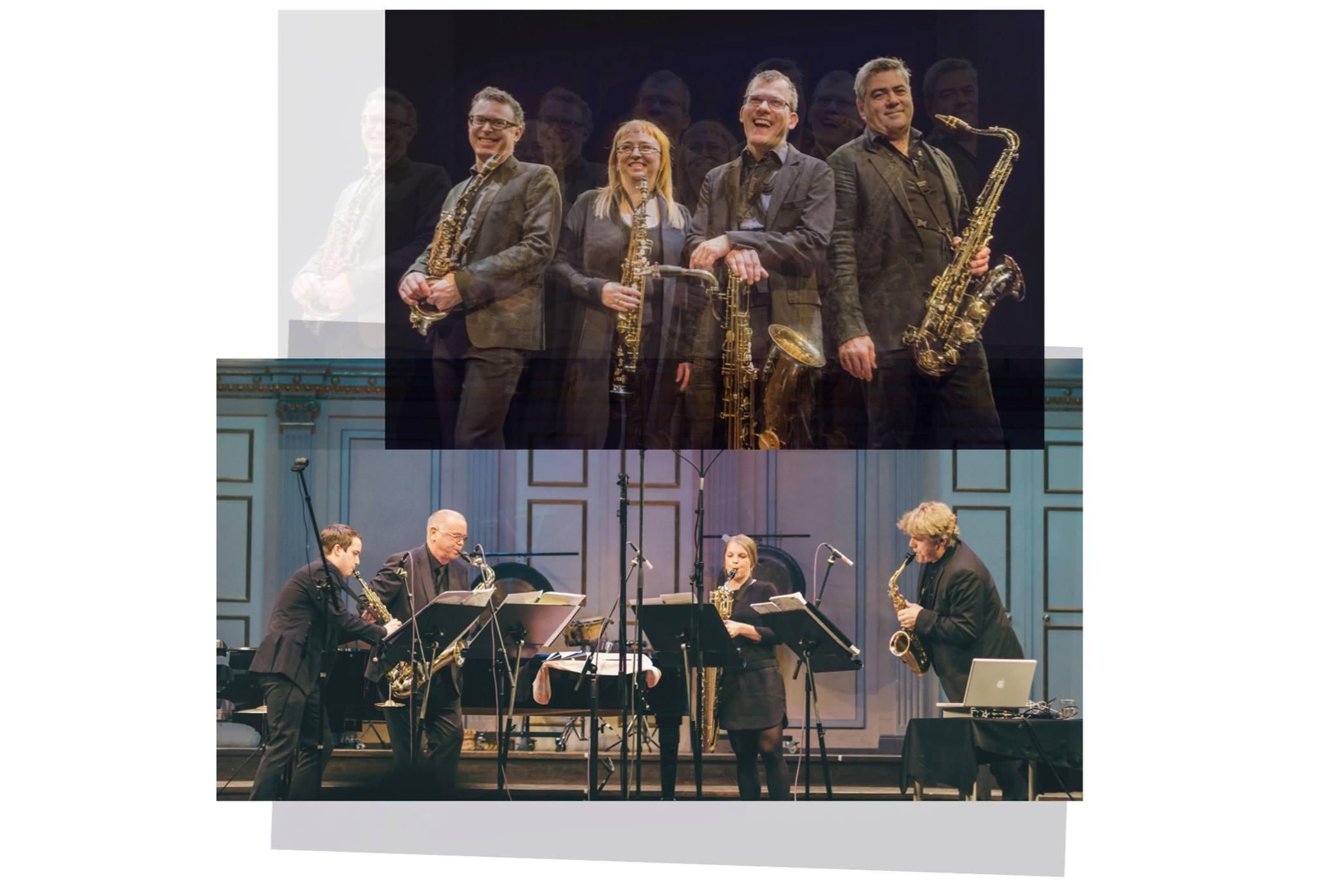 Åtta saxofoner med Quasar & Stockholms Saxkvartett, Kulturfyren