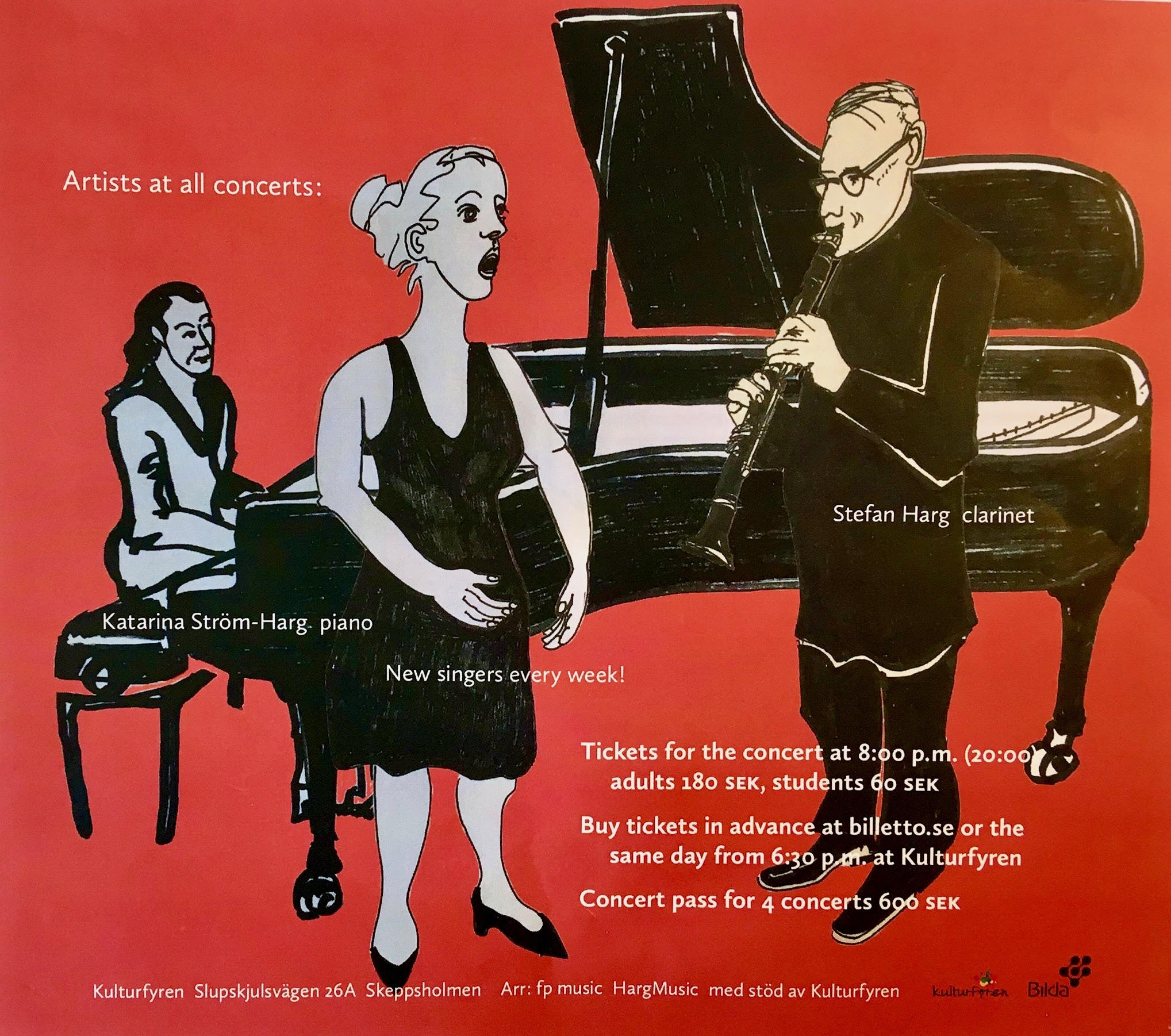 Classical Chamber Music - Amanda Liljefors sopran