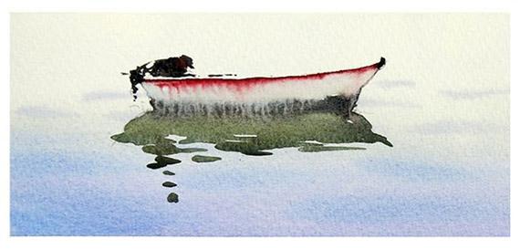 Akvarellkurs med Daniel Luther - Vatten & Landskapsmåleri