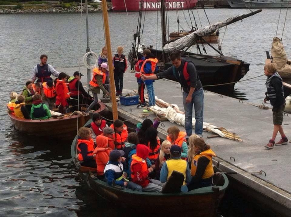 Skeppsholmslägret - Friluftsläger 1