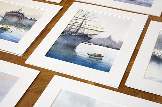 Akvarellkurs  - Sommarkurs II Vatten och Landskap (fullsatt)