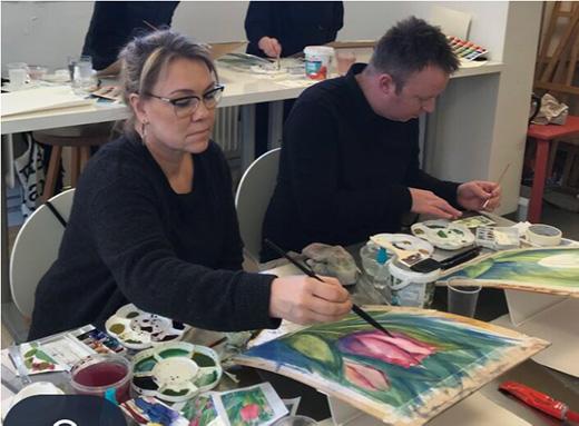 Akvarellkurs - Fru Jansson - INSTÄLLD