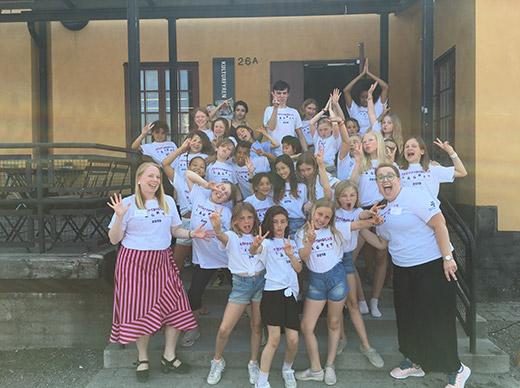 Skeppsholmslägret - Körläger barn