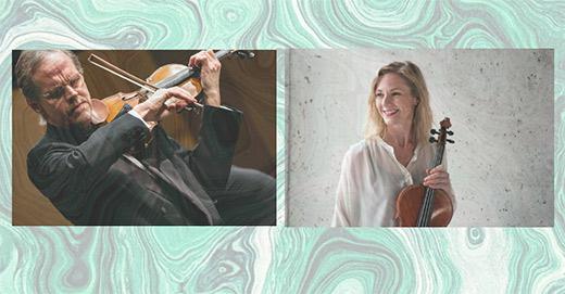 Aforismer för violin & viola, musik genom två sekler